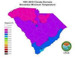 Map Of The Carolinas Usa by South Carolina State Climatology Office