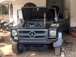 this modified force gurkha turned into a mercedes benz g class