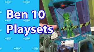 ben 10 omniverse playsets new york toy fair 2013 youtube
