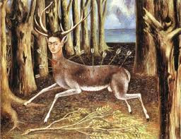 the wounded deer 1946 by frida kahlo