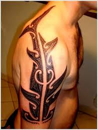 collection of 25 waves and amazing tribal shark tattoos on shoulder