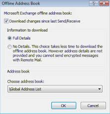 how to create an outlook address book in 2013 helpdesk manually update address books knowledge base