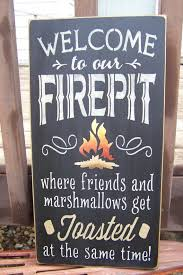 Firepit Signs Wood Signs Picmia