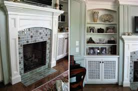 glass tile fireplace designs best 25 glass tile fireplace ideas