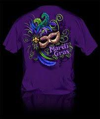 mardi gras t shirt let the times roll gator mardi gras couture company