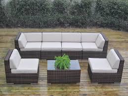 Patio Sectional Sofa Genuine Ohana Outdoor Patio Couchnal Sofac2a0 Curved Sofa