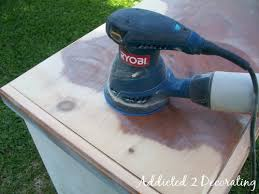 How To Remove Stains From Wood Table How To Paint Distress And Antique A Piece Of Furniture