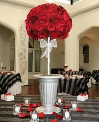 Carnation Flower Ball Centerpiece by 108 Best Red Centerpieces Images On Pinterest Marriage Events