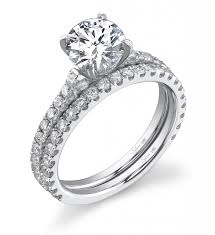 ring settings without stones cut solitaire diamond engagement ring sylvie