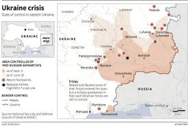 Map Of Ukraine And Crimea The War In Ukraine Reversal Of Fortune Business Insider