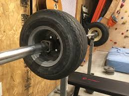 make bumper plates out of golf cart tires for weight lifting diy
