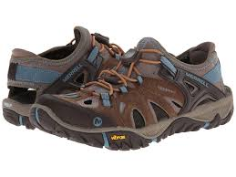 merrell shoes brown shipped free at zappos