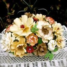 a tissue paper flower centerpiece paper flower centerpieces