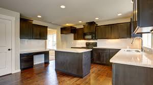Finishing Kitchen Cabinets Should You Stain Or Paint Your Kitchen Cabinets For A Change In