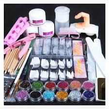 amazon com weccomeuni acrylic powder glitter nail brush false