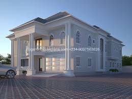 house designs and floor plans in nigeria 6 bedroom duplex designed by nigerian house plans architecture