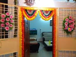 home flower decoration best housewarming gruhapravesam flower decorations in bangalore