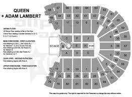 Rod Laver Floor Plan A Once In A Lifetime Experience Queen Adam Lambert