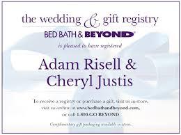 Bed Bath And Beyond Registry Wedding Risellandjustisforall U2014 The Wedding Of Adam Risell And Cheryl