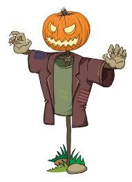 free halloween graphic halloween pumpkin zombie scarecrow vector free vector graphic