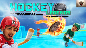 hockey legends sports game android gameplay full hd by y8 youtube
