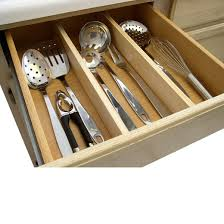 Lipper International Bamboo Kitchen Drawer Dividers by Natural Kitchen Drawer Dividers Target