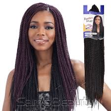 crochet twist hairstyle freetress synthetic hair crochet braids senegalese twist small