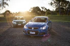 commodore sv6 v ford falcon xr6 comparison review