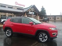 jeep compass limited red new 2018 jeep compass limited sport utility in plano 8313 dempsey