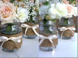 jar vases centerpiece idea jar crafts