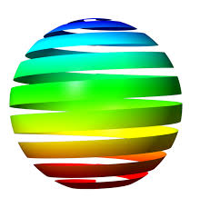 colorful ribbon colorful ribbon wrapping around sphere gimp learn