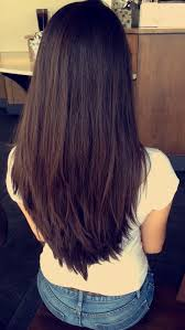 back of hairstyle cut with layers and ushape cut in back awesome v cut layered long layers long hair long