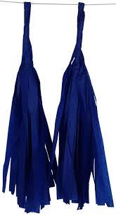 royal blue tissue paper tissue paper tassel garland just artifacts