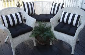 striped patio cushions
