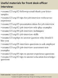 front desk agent interview questions front desk agent interview questions