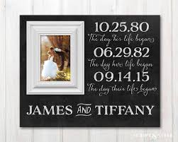 personalized wedding photo frame personalized wedding date picture frame