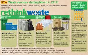 kitchener garbage collection thursday march 2 2017 daily bulletin of waterloo