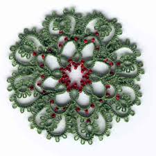 tatted wreath pattern http allcraftsblogs tatting