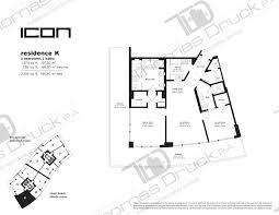 Icon Condo Floor Plan by Icon South Beach South Beach Condo Agent Miami Beach Condos