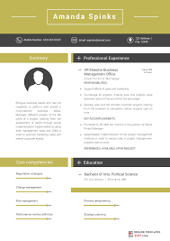 business resume templates resume template is designed to help you to stand out