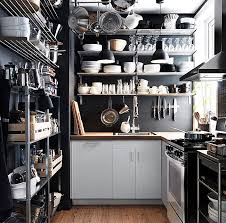 kitchens unique modern stainless steel kitchen shelves ideas