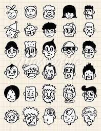 how to draw doodle faces 106 best doodle faces and features images on draw