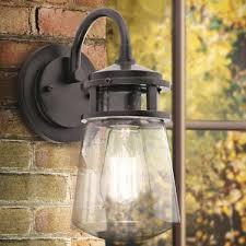 Industrial Outdoor Lighting by Industrial Outdoor Wall Lighting You U0027ll Love Wayfair