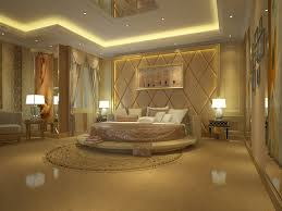 bedroom ultra modern master bedroom with gold accentuation