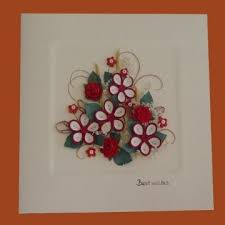 christmas quilling greeting cards 3d pop up cards quilling cards