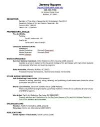 Volunteer Work On A Resume How To Build A Resume For A Job Resume For Your Job Application