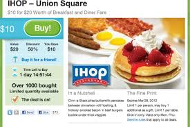 groupon cuisine yes america needs a groupon for ihop eater