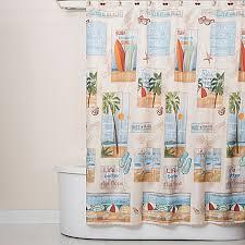 Beachy Shower Curtains Shower Curtain Free Home Decor Oklahomavstcu Us