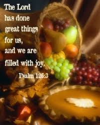 a thanksgiving day prayer
