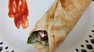 arabic wrap arabic falafel wrap falafel roll healthy recipe no 26